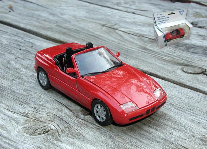 1 43 1989 bmw z1 roadster schabak diecast 1 43rd ebay. Black Bedroom Furniture Sets. Home Design Ideas