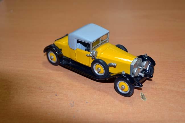 1 43 1926 rolls royce phantom 1 doctor coupe western models white metal ebay ebay